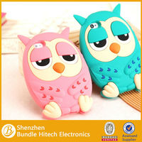 for iphone 5 silicon case,3d silicon animal cute case for iphone 5