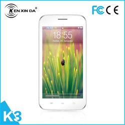 4.5 inch MTK6572 3G dual camera dual sim android smart phone with whatsapp
