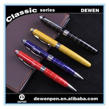 Fashion elegant luxury staionery office high quailty signature metal roller ball pen
