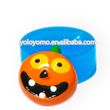 PYL122 O-Lantern Cookie Mold O-Lantern Vintage Orange Empire Haystack Pumpkin Halloween Mold, Charms Mould Food Safe