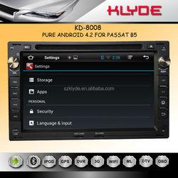 7inch HD 1080P BT TV GPS IPOD Fit for car dvd player passat
