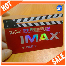 2014 New Product Contactless RFID NFC Business Card Transparent