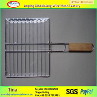 electro galvanized barbecue crimped wire mesh for roast (anping xinkaixiang factory )
