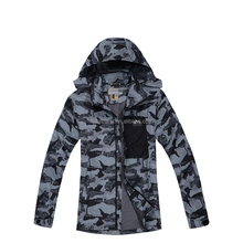 Winter outdoor camo military fatigues camouflage waterproof windbreaker jacket
