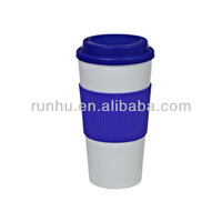 initial exotic double wall travel coffee mugs