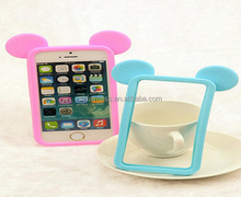 fancy universal silicone rubber cell phone case