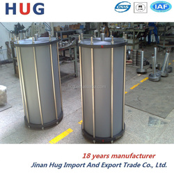 big bore heavy load capacity tie rod pneumatic cylinder for Grab rock machine