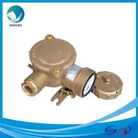 IP56 brass marine explosion proof male female 380v plug and socket CZH101
