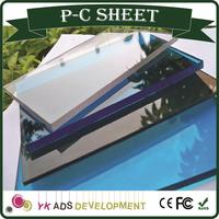 Plastic sheet for gazebo price high quality at factory prices light transmission reach 18% -82% certification ISO9001:2008