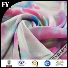high quality digital textile printing on silk fabric