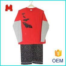 Sleepwear 100% cotton children's pajamas