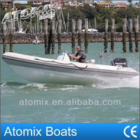 5m CE approved boat