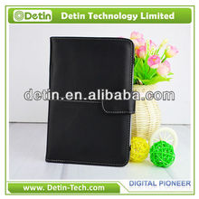 New Black Multi-Degree Viewing Stand with Soft Interior PU Leather Case for Amazon Kindle Fire HD