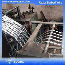 Factory Export Anti Climb Wall Razor Spike Razor Wire Installation 450Mm Coil Diameter Concertina Razor Barbed Wire