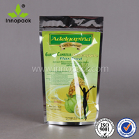 500g stand up pouch plastic food packaging bags
