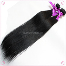 Eayon wholesale cheap silky straight indian remi hair relaxed straight hair weave
