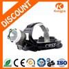 10w Emergency Aluminium Rechargeable Bicycle Light LED Headlamp Hid Headlight