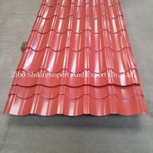 Hot sale prepaqinted metal antique tile roof sheets roofing products