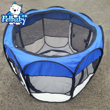Exported the United States eight edge foldable pet cage