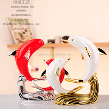 adore home decorative items resin animal figurine for sales