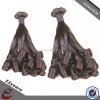 Beauty 100% Virgin Indian Spring Curl Hair , Romance Spiral Curl Human Hair
