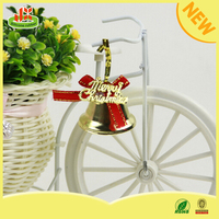 Factory wholesale pvc small bells christmas decoration