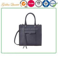 Shenzhen handbag supplier customize 2015 lady fashion design tote bags leather handbag for women