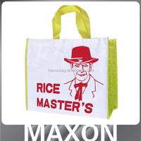 Guangzhou manufacturer Logo printing european shopping bags