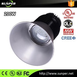 6 YEARS WARRANTY 0-10V/DALI driver dimming 200w led high bay light dimmable