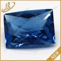 Pedra preciosa pérola corte fantasia pedra azul para venda