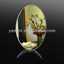 Fashionable acrylic centerpiece mirror