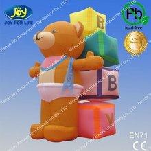 2012 lovely inflatable teddy bear