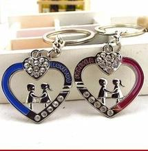 Newest design gifts, beautiful keyring ,sound heart keychains
