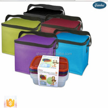plastic lunch boxes factory Two layer plastic lunch box with handle, BPA free bento lunch box, Office lunch box