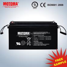 150Ah Gel deep cycle battery 12v Solar deep cycle battery
