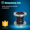 China factory flexible rubber joint flange steam expansion joint manufacturer