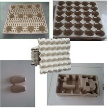 eco-friendly fiber molded pulp automatic recycled waste paper industrial packaging protector