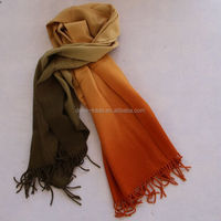 wool woven solid color shawls