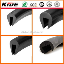 u channel rubber for edge protection