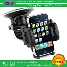 2112-F# Practical car mount phone holder for air vent and universal dashboard mount kit