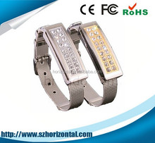 Chinese valentine's day Anniversary gifts crystal wristband USB flash drive