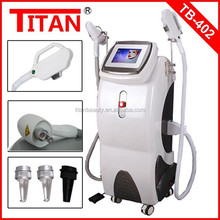 NEW tattoo/freckle removal equipment e-light ipl rf+nd yag laser multifunction machine