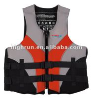 (Hot Selling)Adult Neoprene YKK zipper/Buckle Life Jacket/vest