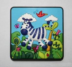 Animal custom soft pvc fridge magnet
