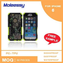Dustproof assort color phone case for iphone 6