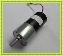 37mm dia 6mm shaft 24v dc motor low rpm dc gear motor high torque 20w with encoder