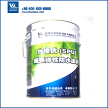 water based roof colored polyurethane waterproof paint