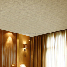 new arrive product cheap PVC interior 3d ceiling wallpaper manufacuring