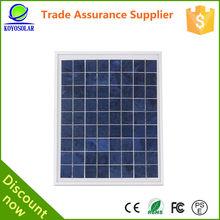 15 watt poly panel solar mini solar panel