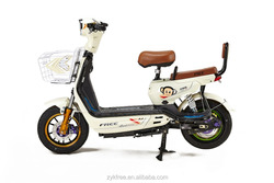Front and Rear disc brake mini electric motorcycle with cartoon monkey paper transfer